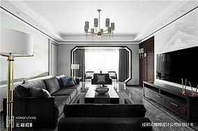简洁中式客厅设计图