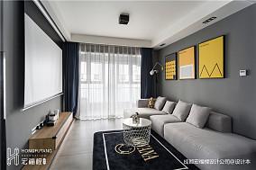 精美80平现代三居客厅装修图片