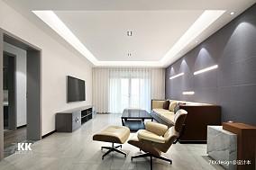 精致135平现代三居客厅设计美图
