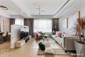 简洁110平北欧三居客厅图片欣赏