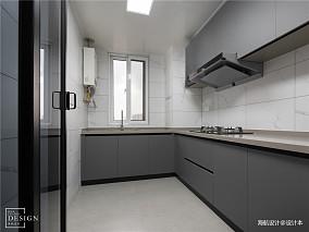精美160平现代四居厨房装修案例
