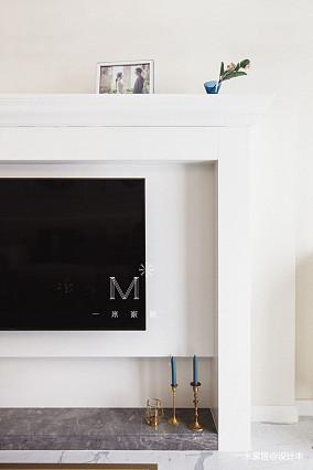 轻奢64平美式二居装修设计图