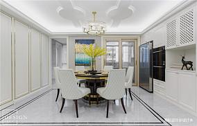 明亮119平美式四居餐厅设计案例