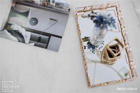 温馨93平美式四居客厅装修装饰图