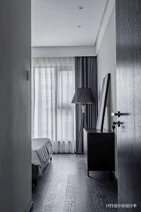 悠雅62平现代复式卧室装饰图