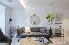 质朴20平现代小户型客厅设计效果图