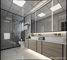 优美57平简约复式卫生间装饰图