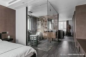 优雅73平现代二居卧室装修设计图