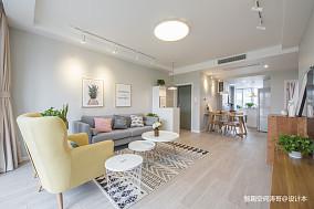 温馨60平北欧二居客厅装修美图