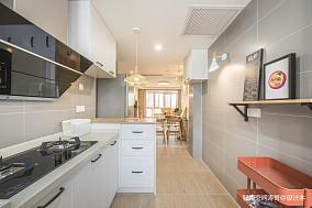 优美77平北欧二居厨房装修案例