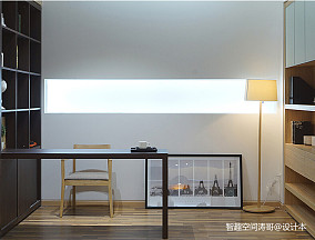 明亮91平日式三居书房美图