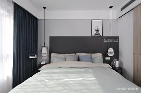 典雅108平简约三居卧室装潢图