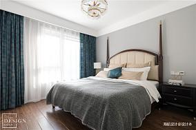 悠雅94平美式四居卧室装修美图