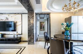 典雅119平欧式四居客厅装修图片