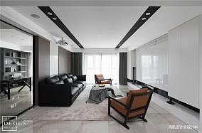 明亮99平现代四居客厅装修案例