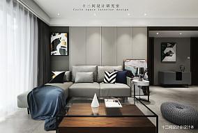 精致86平现代三居卧室装修图