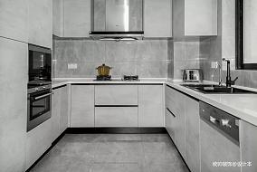 优美106平简约三居厨房设计案例