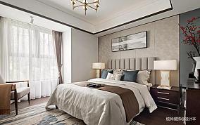 典雅94平中式四居卧室装修设计图