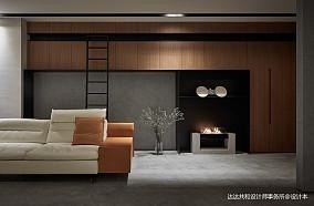 优美71平现代复式客厅效果图欣赏