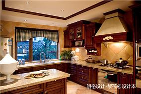 浪漫479平欧式别墅厨房装修案例