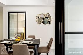 优美149平现代四居餐厅装饰图片