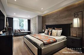 优雅917平中式别墅卧室设计图