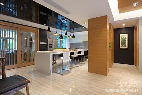 悠雅61平现代复式餐厅装修设计图