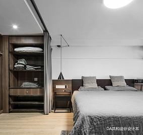 简洁37平北欧小户型卧室装修案例