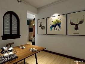 201993平北欧三居餐厅装潢图