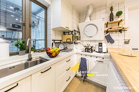 典雅87平简约二居厨房设计图