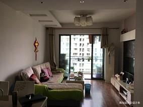 精美25平混搭小户型客厅实景图