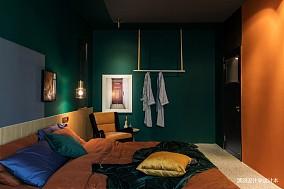 精美87平混搭二居卧室装潢图