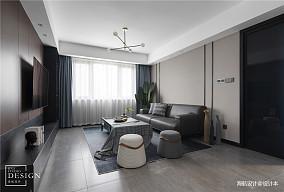 精致126平现代三居客厅装修美图