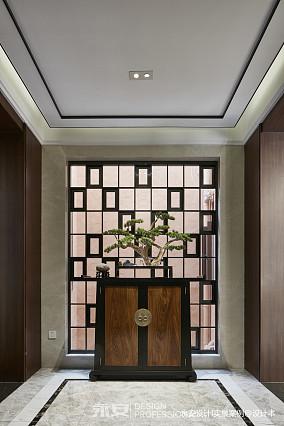 600㎡ 新中式别墅玄关设计