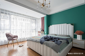 简单现代风复式卧室设计图