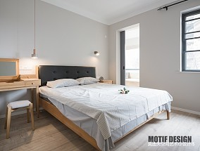 时尚北欧风主卧室设计图