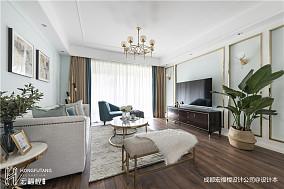 美式客厅吊灯设计