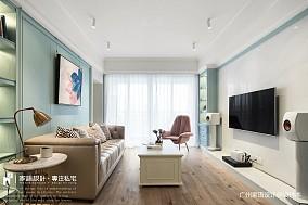 美式风三居客厅图片