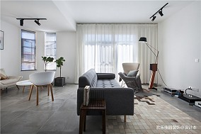 极简主义男士公寓,向往的生活无需过多装饰_3703175