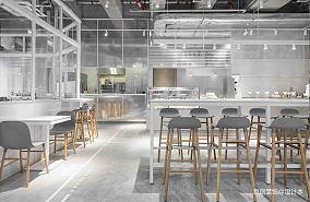 咖啡館簡約風格設計案例,咖啡館設計效果圖_3769489