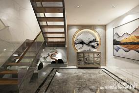 无锡香樟园新中式420平别墅效果图_3850290
