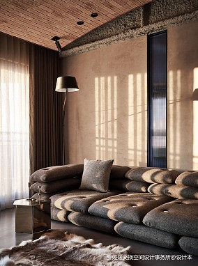 优雅的工业风公寓_3850539