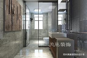 郑州康桥悦城125平三室装修后现代风格_3857885