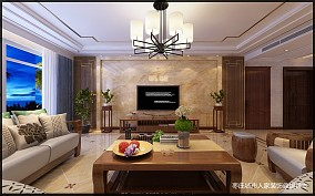 枣庄城市人家 峄城水发颐和园 装修效果图_3870036