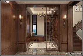 新中式风格别墅装修案例_4001894