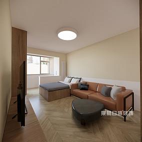 80㎡现代简约,营造出不一样的家居环境17406493