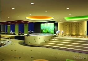 泉宾馆药浴区设计
