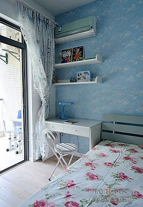 3d美式卧室