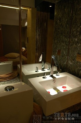 酒店卫生间装修设计欣赏