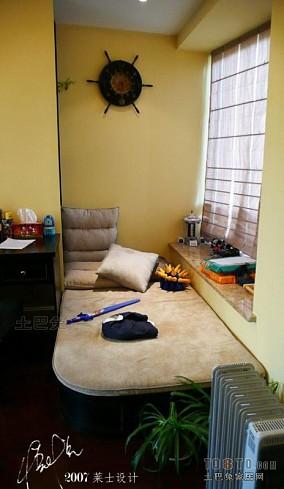 日式原木宝宝的卧室